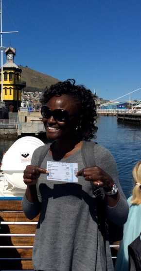 Just got my ticket to visit Robben Island